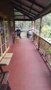 Verandah at Duffy's Cottage