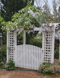 Redgum Hill Country Retreat entrance