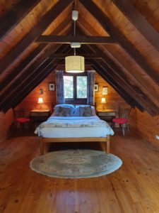 Gumnut Cottage attic bedroom